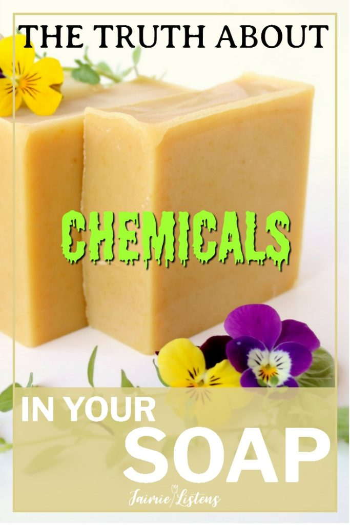 Are There Chemicals in Your Soap? - Jaimie Listens: Is your bar of soap exposing you to chemicals? Some believe it is, so let me help you de-mystify what you are washing with!