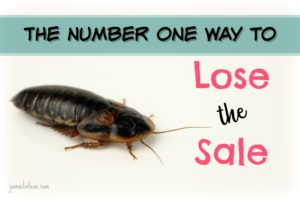 The Number One Way to Lose the Sale - Jaimie Listens: Do this and you will always have trouble, but the good news there is a simple fix to help your sales increase for no cost and a little effort.