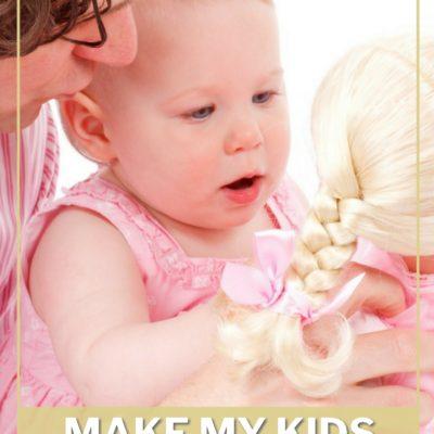 Why I Don't Make My Kids Share