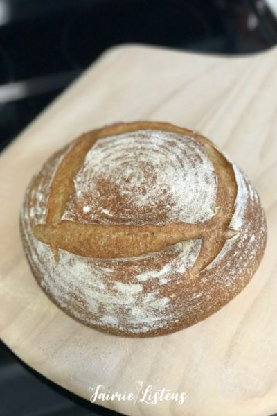 Feeding Sourdough Starter in 5 minutes! - Jaimie Listens: Maintaining a sourdough starter is easy, fast and cheap! Here are four steps plus tips to keep your starter happy in less time.