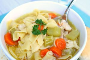 Nourishing Homemade Chicken Soup - Jaimie Listens: Picky eaters love it, perfect for https://www.thrivelife.com/chicken-bouillon-1152.html immune support for colds, comforting and extremely budget-friendly!