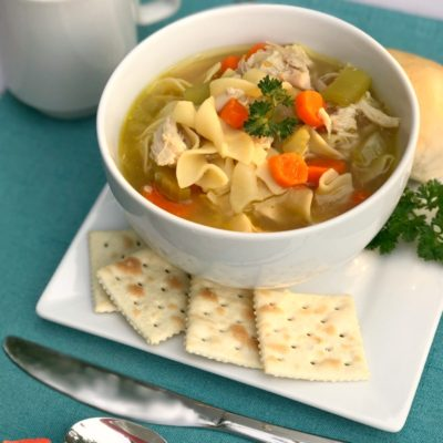 Nourishing Homemade Chicken Soup on a Budget
